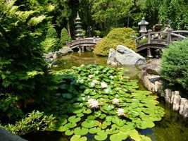 """7. Hillwood Museum & Gardens: Washington D.C.Nestled in the hills of the nation's capital, travelers visiting the estate of breakfast cereal heiress Marjorie Merriweather Post can stroll through 13 acres of garden """"rooms."""" Open year-round, a $15 donation is suggested for adults."""