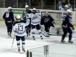 In 2003-2004 the Black Bears were back in the NCAA tournament and made it to the championship game where they lost a heartbreaking game to Denver.