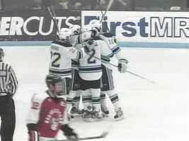 The Black Bear's NCAA tournament streak continued in the 2005-06, and made it to the Frozen Four, losing to eventual national champion Wisconsin.