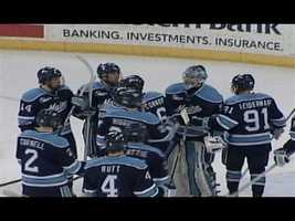In 2006-07, UMaine made it to the Frozen four for the 11th time in school history where they were defeated by Michigan State.