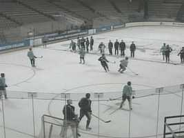 In the 2009-10 season, lost the Hockey East title game to a Boston College team that went on to win the NCAA national championship.