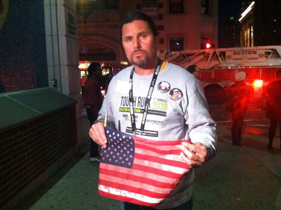 Carlos Arredondo helped rescue Boston Marathon bombing survivors following the explosions