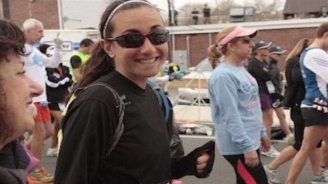 Portland native Zoe Romano just finished the Boston Marathon when the bombs went off.