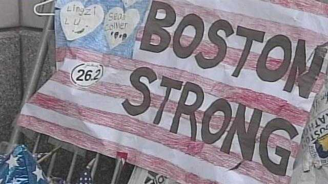 People in Boston continue to heal following last week's marathon bombing.  News 8's Paul Merrill reports.