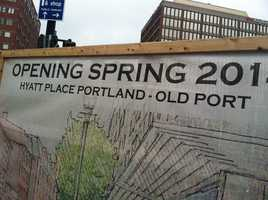 The hotel is scheduled to open in the spring of next year