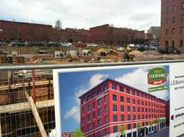 A Courtyard Marriott will open in the summer of next year.