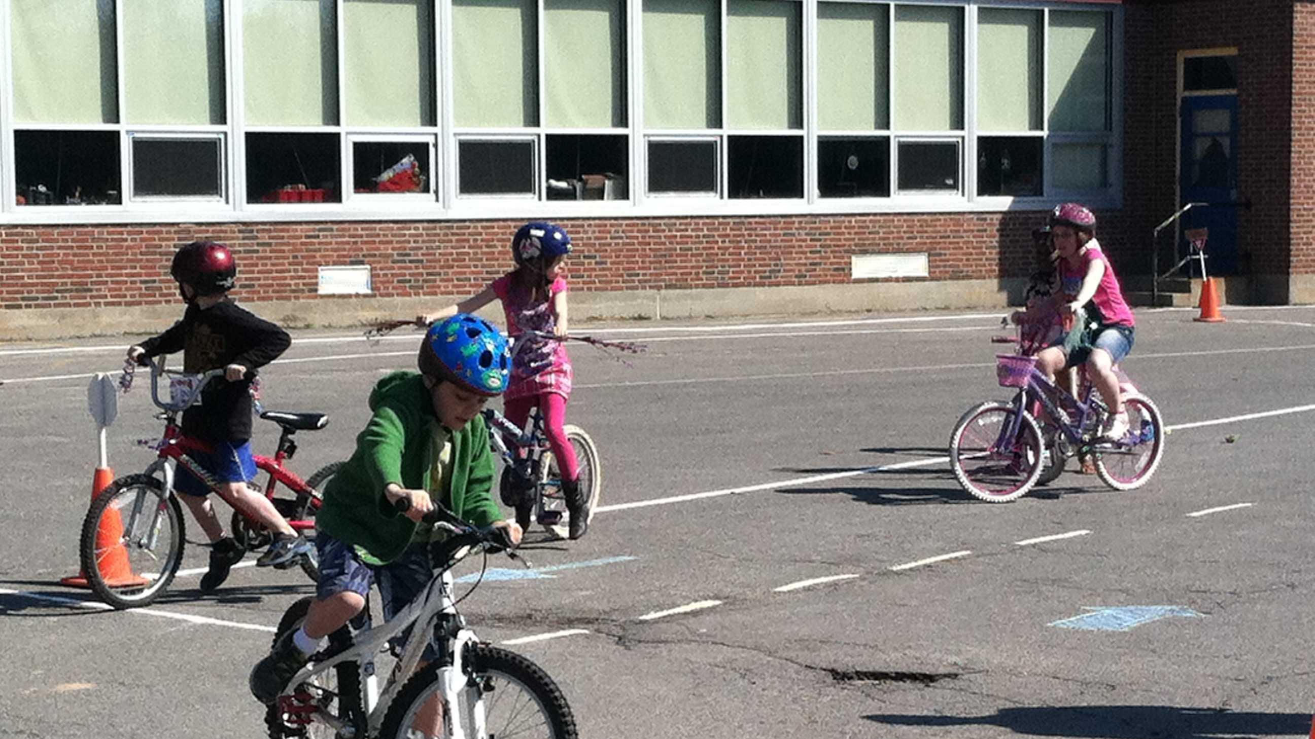 Lyseth Elementary School Bike Rodeo