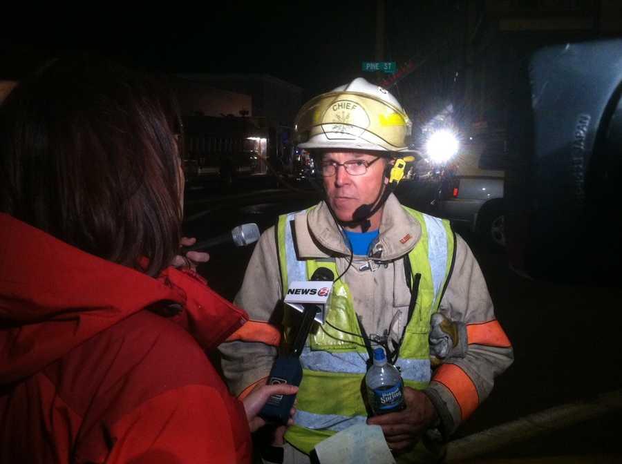 Lewiston Fire Chief Paul LeClair