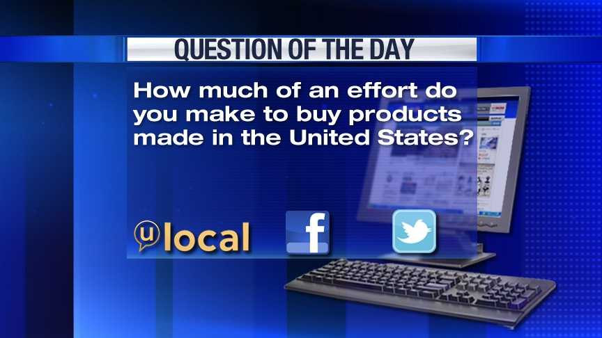 Question of the Day 5-2-13