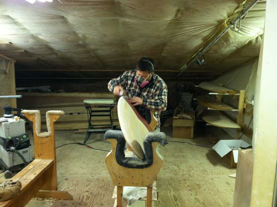 Between the custom boards, the classes and do-it-yourself kits the company sells, there are currently about 1,500 Grain boards in use around the world.
