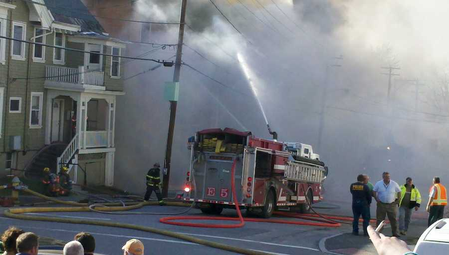 It cost the city $2,800 to fuel all the fire trucks.