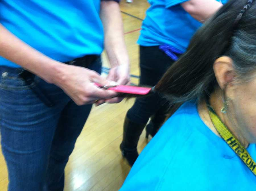 Those wigs will then be distributed to women who have lost hair due to cancer treatment.