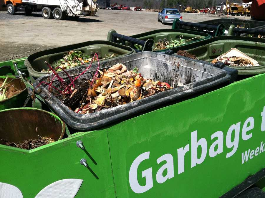 Each week, the company picks up more than 1,000 buckets of food waste, about 5,000 pounds worth, that would have ended up in landfills or Portland's incinerator.