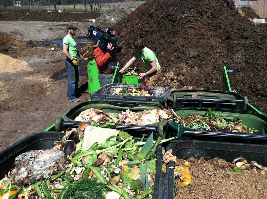 In its first nine months, Garbage to Garden has attracted more than 1,000 customers and turned more than 250,000 pounds of garbage into compost.
