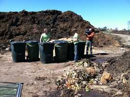 In six months to a year, it will transform into compost.