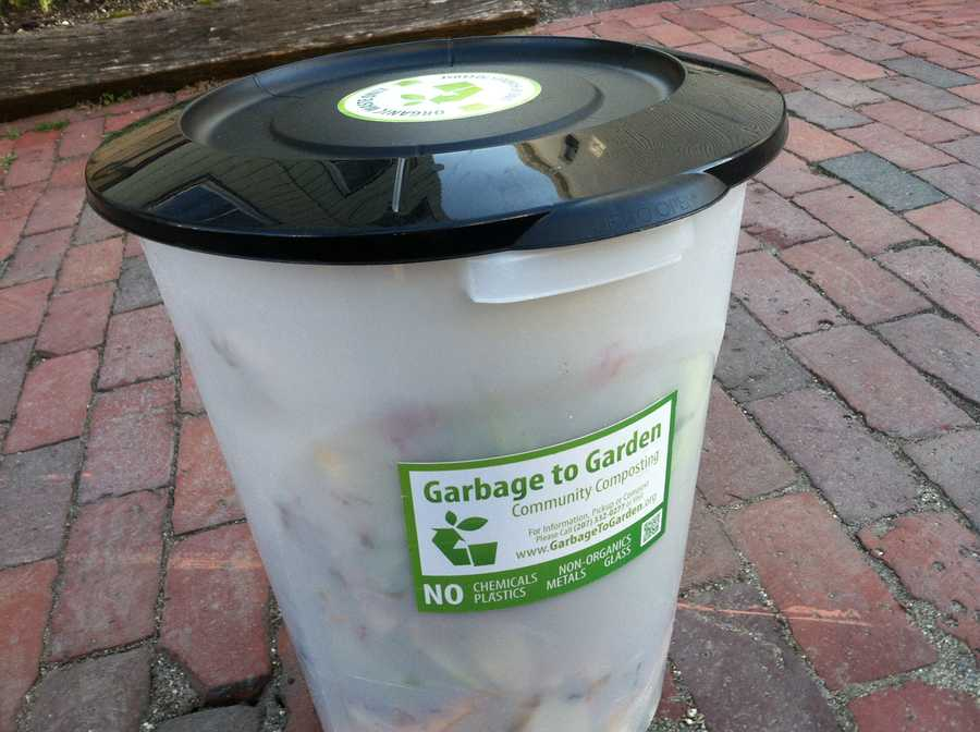 At a cost of $11 a month, each week customers put their bucket of scraps on the curb and, in exchange, they are left with 40 pounds of fresh compost.