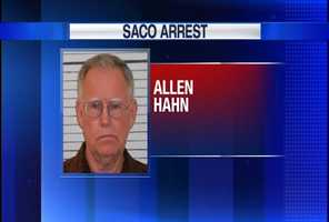 Allen Hahn is charged with unlawful sexual touching.