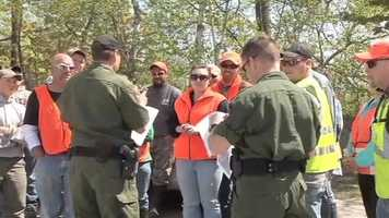May 19: Hundreds gather for massive search effort for Cable
