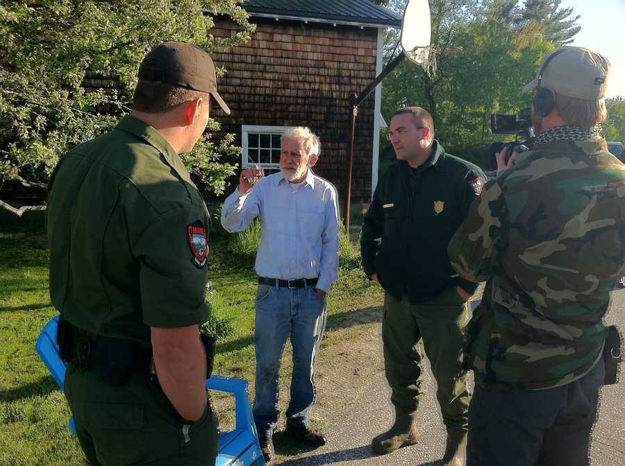 Wardens, sheriff's deputies and search and rescue crews spent 14 hours searching for him.