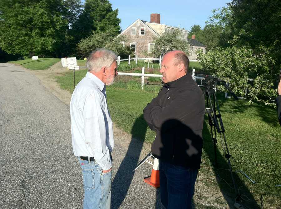 Shortly after 6:30, a man walked up to Norm Karkos, identifying himself as Robert McDonough