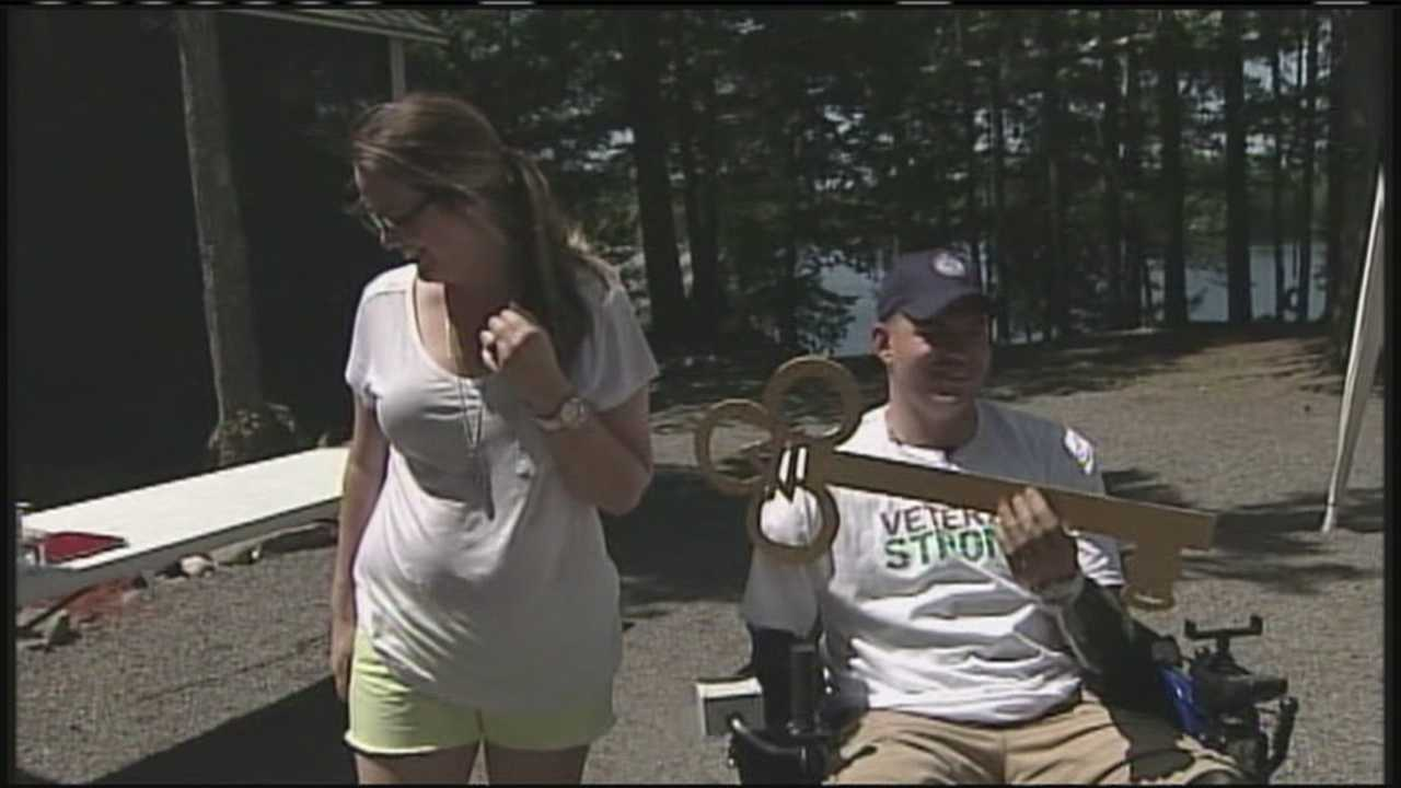 WMTW News 8's Katie Thompson reports from Belgrade about a Maine vet who dream is about to come true.