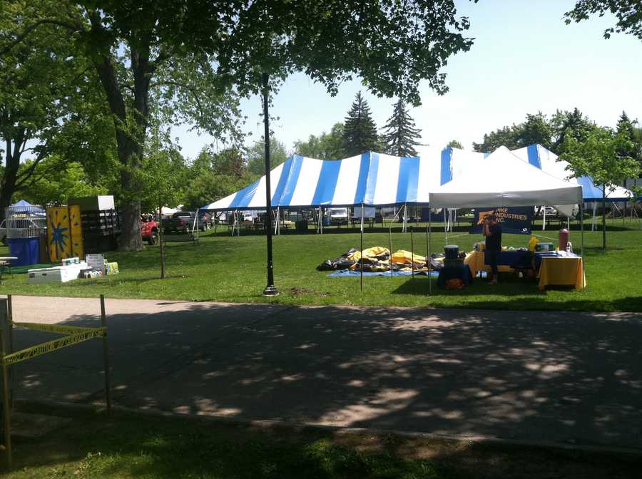 Preparations are under way for Westbrook Together Days.