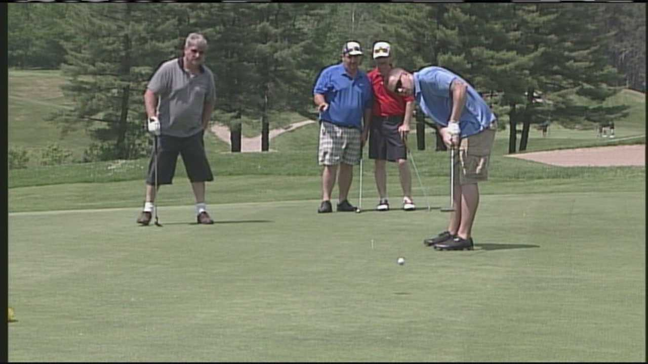 The Maine Police Emerald Society puts on its first golf tournament Saturday to raise money for the Barbara Bush Children's Hospital.