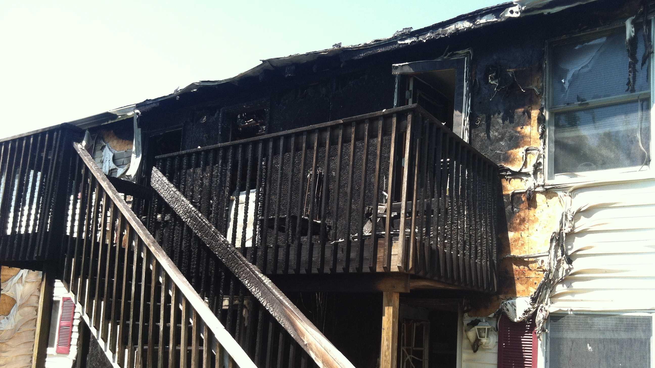 South Portland fire