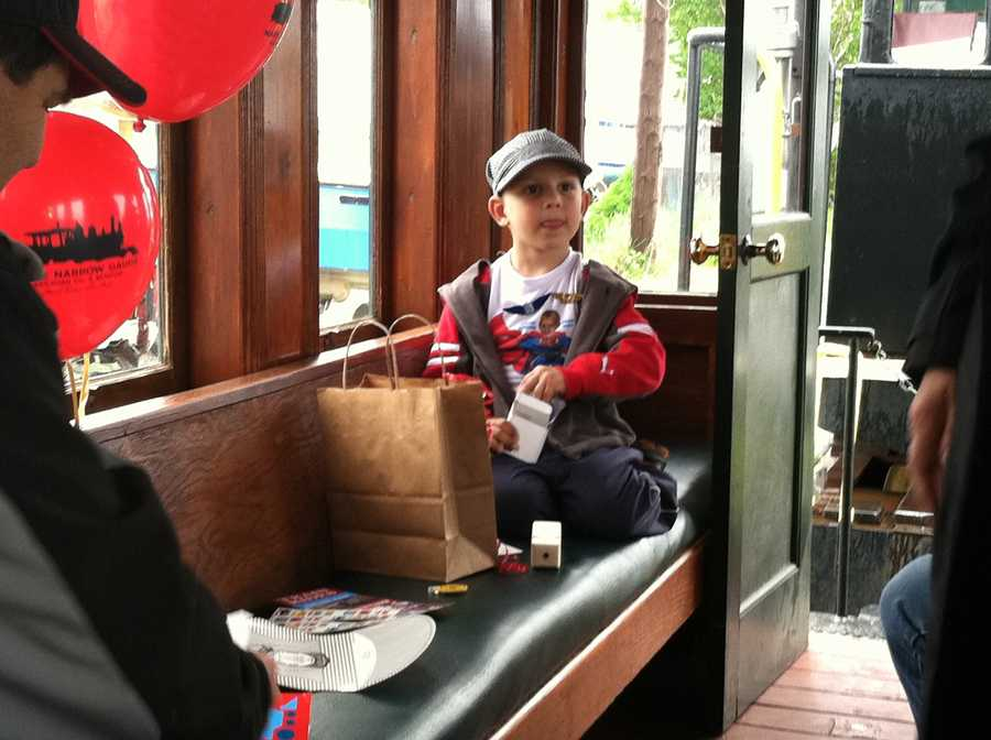 Make-A-Wish on Monday helped grant the wish of a 4-year-old boy.