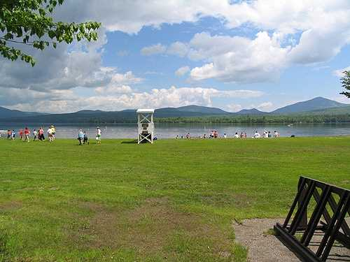 15. Webb Lake is located at Mt. Blue State Park and is the state's largest lake that does not contain an island.