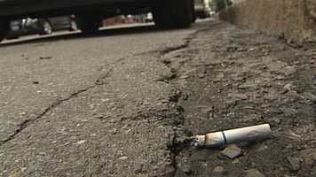 A Portland business owner has come up with a plan to address cigarette butt littering in the city.