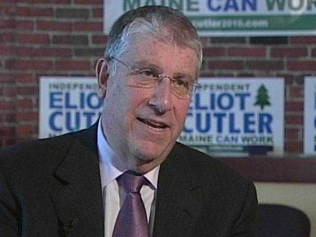 Independent Eliot Cutler announced he is running for governor. Cutler lost to LePage in 2014.