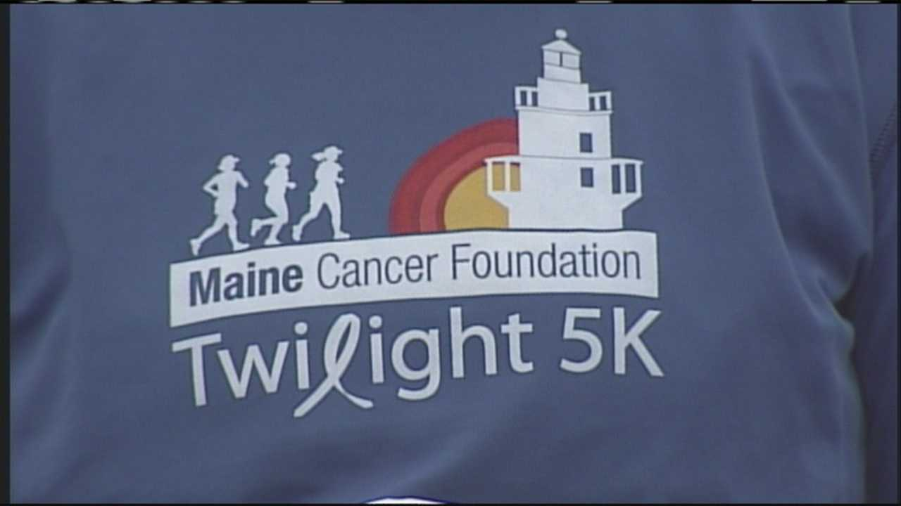 Hundreds of people pounded the pavement Thursday evening in South Portland to help stomp out cancer in the annual Twilight 5K road race, a race to benefit the Maine Cancer Foundation. Considered a pre-cursor of sorts for Tri For A Cure, the Twilight 5K is quickly becoming a main event in its own right.