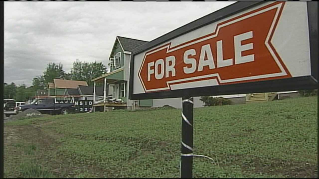 WMTW News 8's Katie Thompson reports on how new national numbers could signal a recovery in the local housing market.