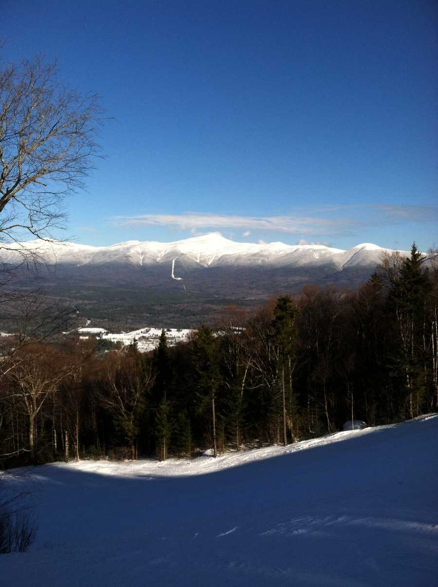 A continental ice sheet once covered Mount Washington, and there is permanently frozen ground just beneath the summit.