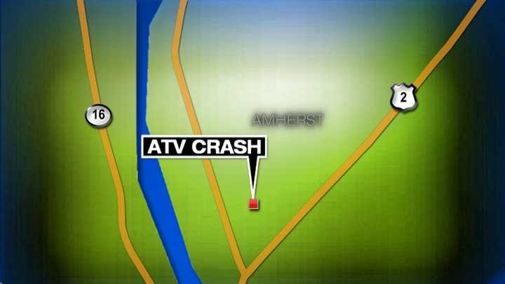 Amherst ATV Crash Map