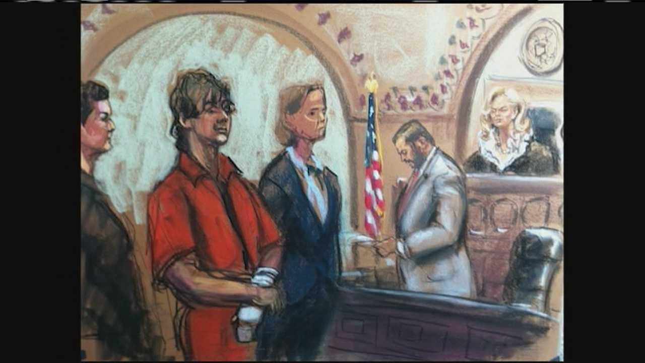 Accused Boston Marathon Bomber pleads not guilty