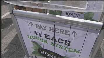The beverage company Honest Tea wanted to see just how honest people would actually be if no one is looking.