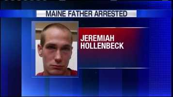 Jeremiah Hollenbeck is accused of leaving four kids in a hot car in New Hampshire. He is facing hild endangerment and drug charges.