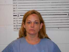 Monique Vallee is charged with aggravated reckless conduct, assault on an officer and criminal mischief