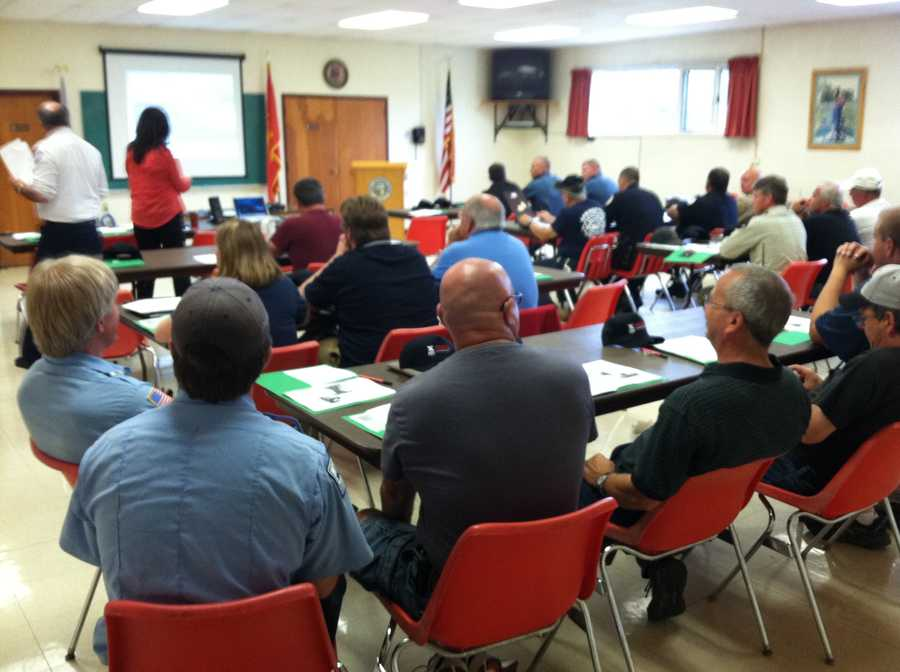 First responders have gathered in Aroostook County this week to take part in train disaster training.
