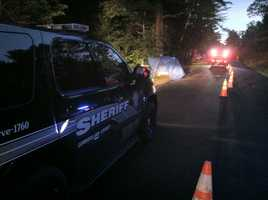 Deputies were called to the intersection of Waterford and Rolfe roads just before 3 a.m. Thursday morning.