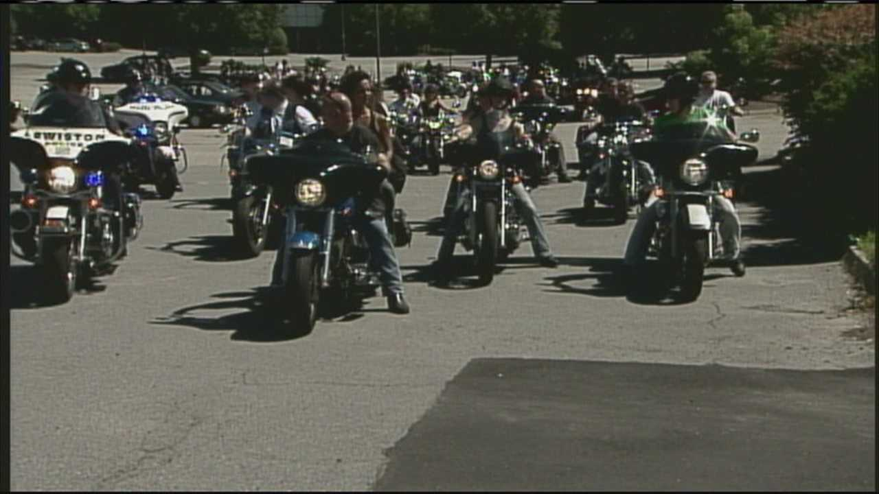 The fifth annual Sgt Johnsey and Sgt Betters Memorial Ride took place Saturday afternoon.