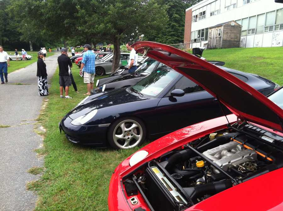 The 10th annual Mackworth Island Show & Shine car show was held Sunday at the Governor Baxter School for the Deaf in Falmouth, Maine.