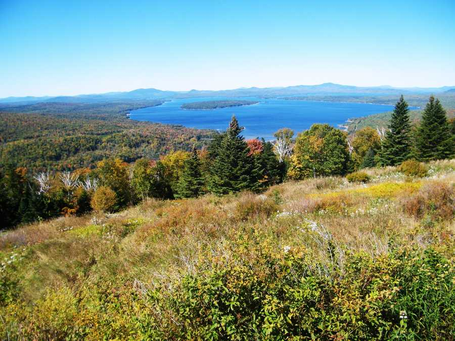 Height of Land near Rangeley.