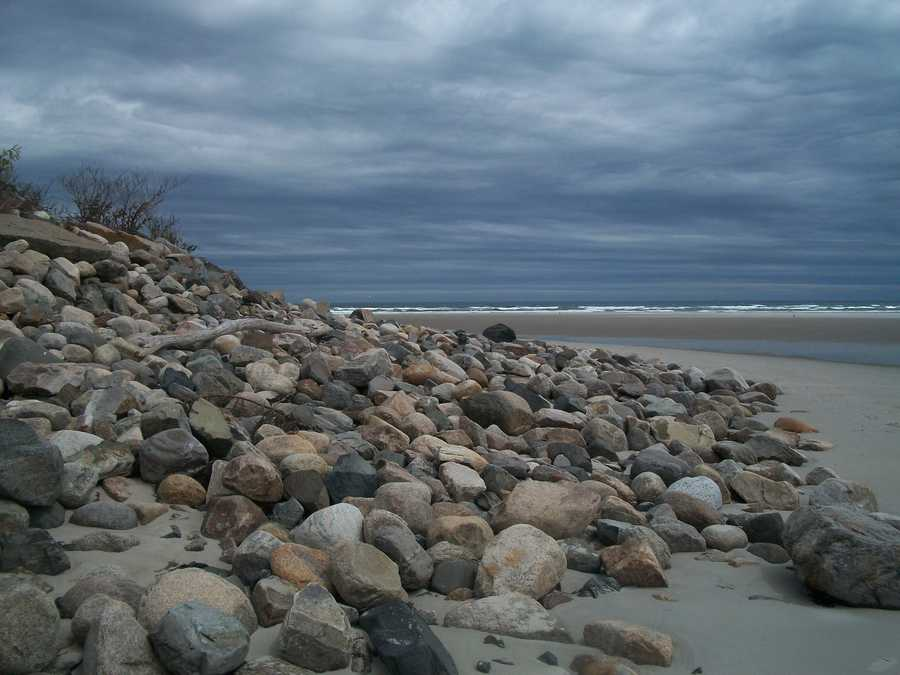 Coastline in Ogunquit