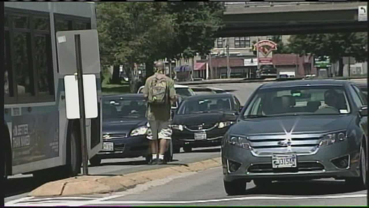 Portland's ban on standing in medians starts Thursday
