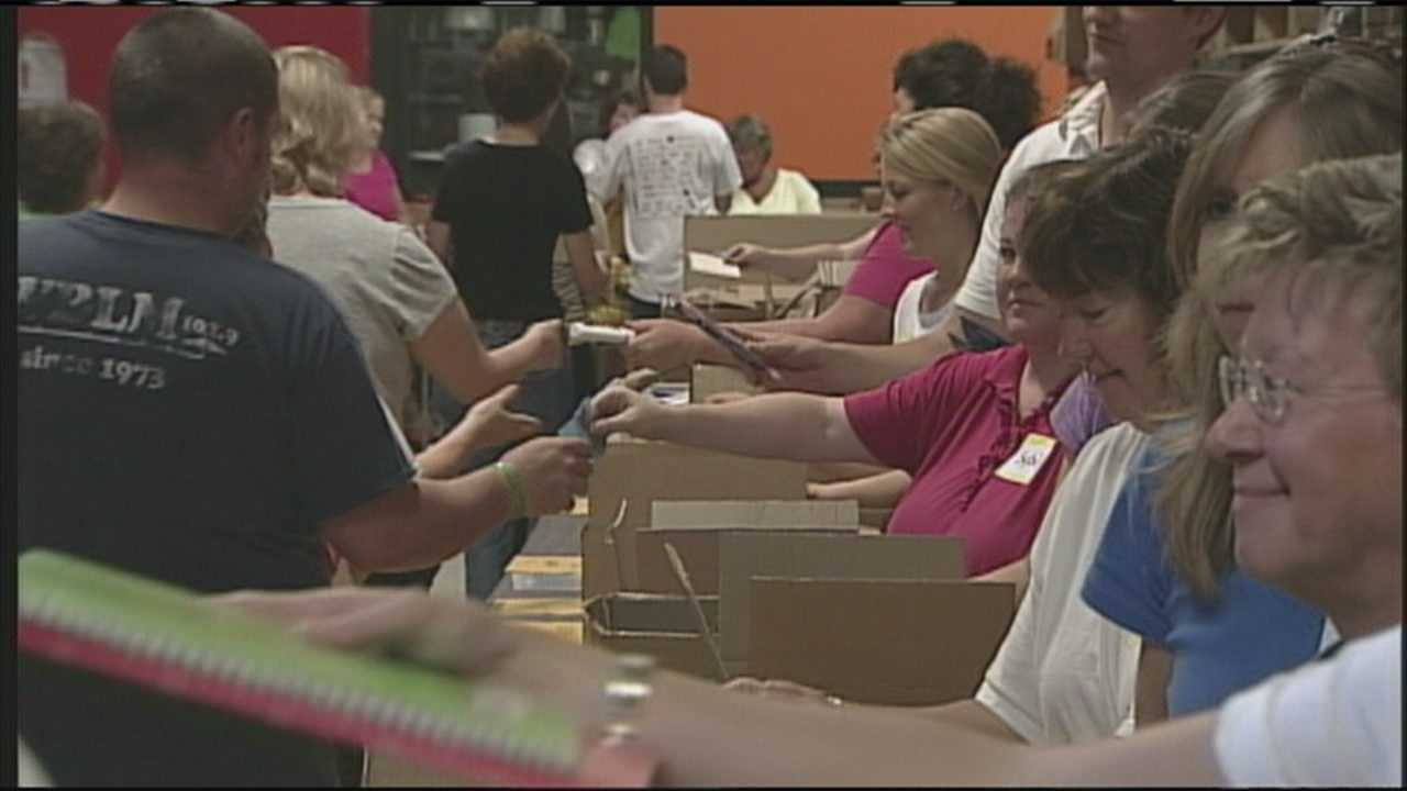 Tools for Schools providing 4,300 backpacks for kids