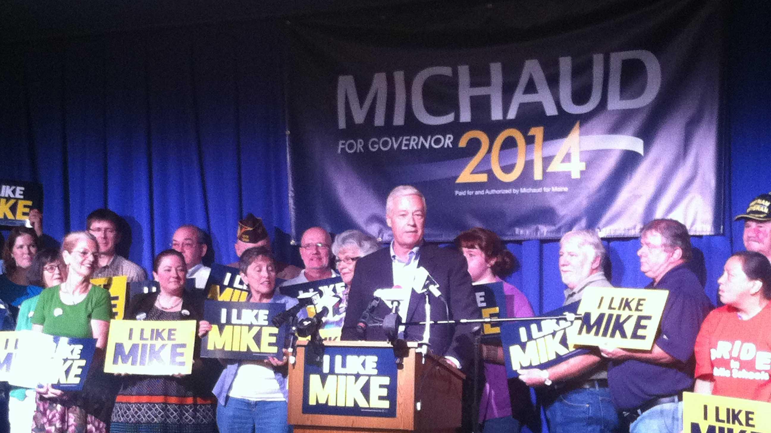 Mike Michaud announces gubernatorial run