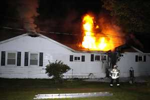 Fire heavily damaged a home in South Paris early Monday morning. Click through for more photos from the scene.